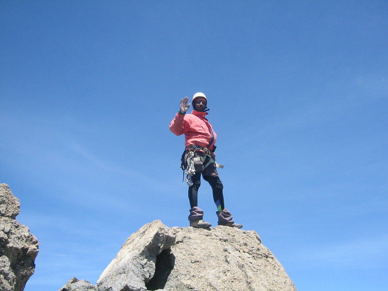 mount kenya summit